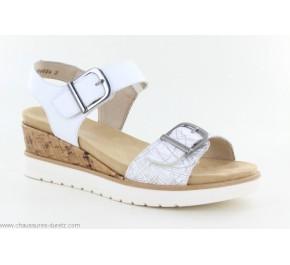Sandales femme Remonte REAL R6152-81 Blanc