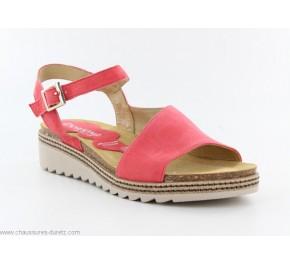 Sandales femme Dorking POM 8540 Corail