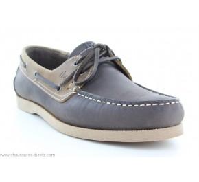 Chaussures bateau homme Tbs PHENIS Marron