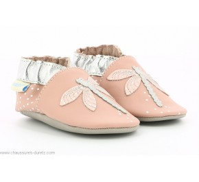 Chaussons fille Robeez SHINY DRAGONFLY Rose
