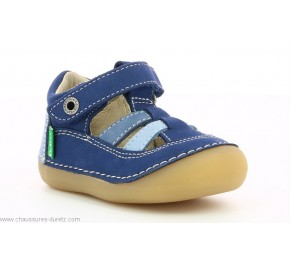 Chaussures garçon Kickers SUSHY Bleu Tricolore