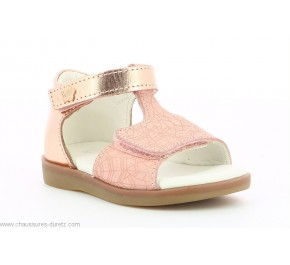 Sandales fille Kickers GIUSTICIA Rose