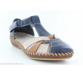 Chaussures femme Rieker HORS M1668-14 Bleu