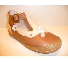 Chaussures Bébés Loup Blanc HIONA Marron / Beige