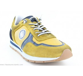 Baskets homme Redskins STITCH Jaune / Marine