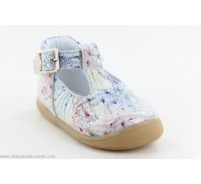 Chaussures fille Bellamy DANET Fleuri Doré