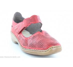 Chaussures femme Rieker HONTE 413G6-33 Rouge