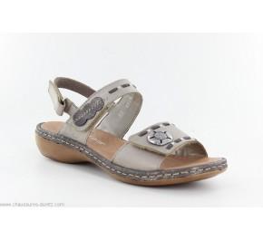 Sandales femme Rieker BENZO 65972-90 Bronze