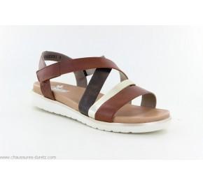 Sandales femme Rieker HEXA V5073-24 Marron