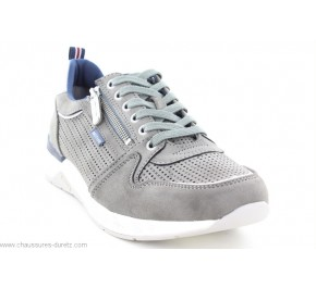 Baskets homme Mustang HIN Gris