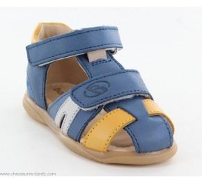 Sandales garçon Babybotte TITOF Bleu jeans