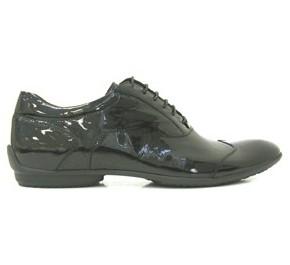 Chaussures homme Géox GIROND Verni Noir