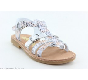 Sandales fIllette Bopy ESABOU Argent