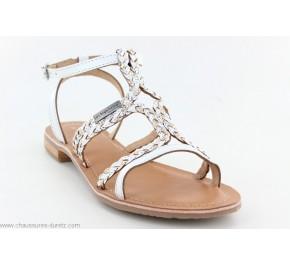 Sandales femme Les Tropéziennes BONGO Blanc