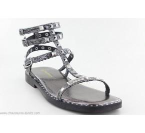 Sandales femme Les Tropéziennes COROL Gris