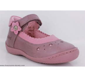 Chaussures bébés Kickers GRAZIA Violet / Rose