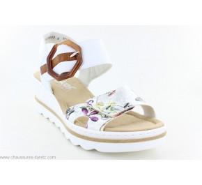 Sandales femme Rieker HIVER 67478-90 Blanc