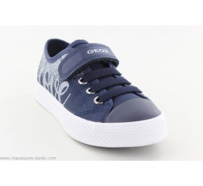 Baskets filles Géox GREEN Navy