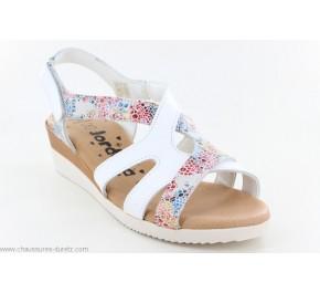 Sandales femme Jordana JOINT 2211 Blanc