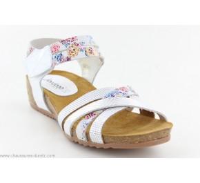 Sandales femme Jordana JING 2959 Blanc Multi