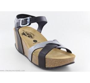 Sandales femme Plakton SO FINAL Noir