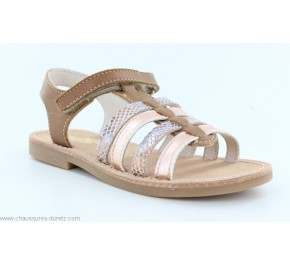 Sandales fIllette Bopy ELBOSSA Caramel