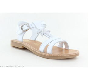 Sandales fIllette Bopy EPALMA Blanc