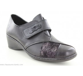 Chaussures femme Rieker GIBB2 Noir 47152-01