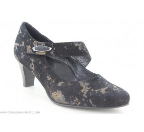 Escarpins femme Artika ANELISE Noir/ Bronze