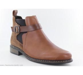 Boots femme Rieker IRRE Z49A9-24 Marron