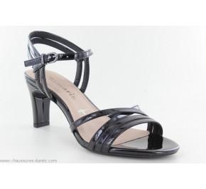 Sandales femme Tamaris ORGANE Noir Verni