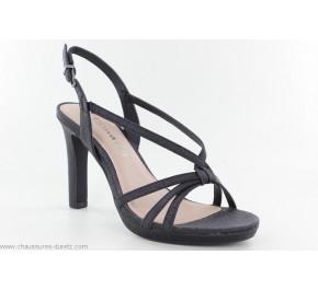 Sandales femme Tamaris ULTI Noir Glam