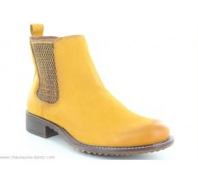 Boots femme Tamaris VUNE Moutarde 25422