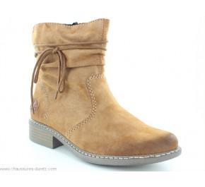 Boots femme Rieker IULE Marron Z4197-24