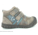 Bottines Bopy TROGLO Gris