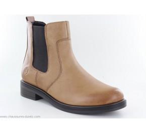 Boots femme Remonte ROIDE D8376-20 Beige foncé