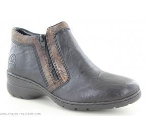 Boots femme Rieker CUBE3 Noir L4382-00