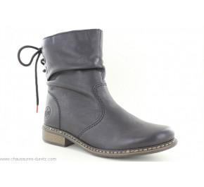 Boots femme Rieker ISBA Z49L1-00 Noir