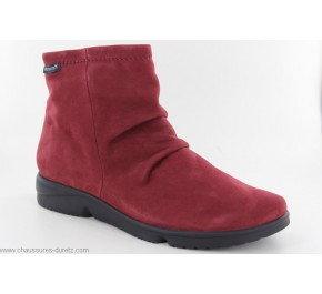 Boots femme Méphisto REZIA Burgundy