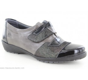 Chaussures femme Suave SEL 8120T Noir / Taupe