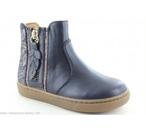 Boots fille Babybotte AIGRETTE Marine