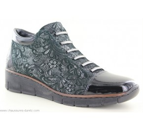 Boots femme Rieker IPE Noir 53778-00