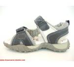 Sandales  Bopy TROVAL Marine / Gris