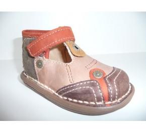 Chaussures bébés Babybotte KOMANCHE Sable / Marron