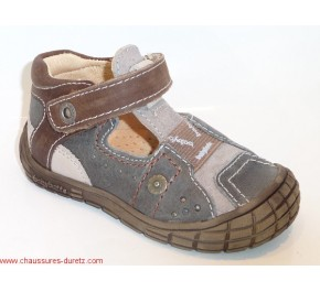 Chaussures bébé Babybotte SIOUX Gris