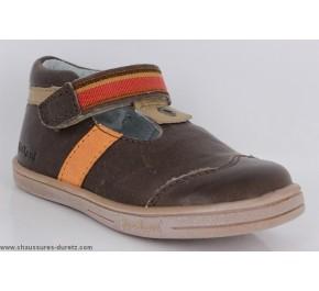 Chaussures garçon Kickers TEO Marron