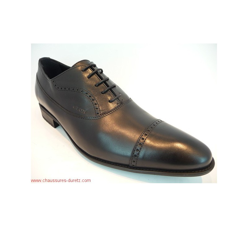 Homme Noir Obeir Chaussures Chaussures Géox Y6f7yvbg