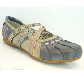 Ballerines fille Mustang TABAC Gris