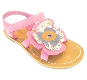 Sandale fille Kickers DIABOLIC Rose