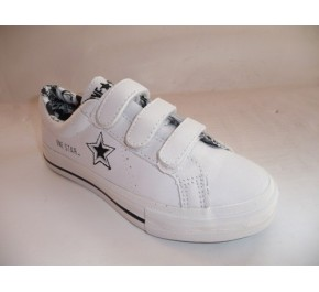 Baskets enfants Converse ONE STAR Blanc